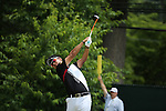 Hideki Matsuyama (JPN),<br /> June 15, 2013 - Golf :<br /> Hideki Matsuyama of Japan tees off on 11th hole during the third round of the U.S. Open Championship at the Merion Golf Club, East course in Haverford Township, Delaware Country, Pennsylvania. (Photo by Koji Aoki/AFLO SPORT) [0008]