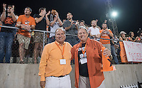Occidental College football plays against Pomona-Pitzer during Family Weekend & Homecoming, Oct. 22, 2016 in Jack Kemp Stadium.<br />