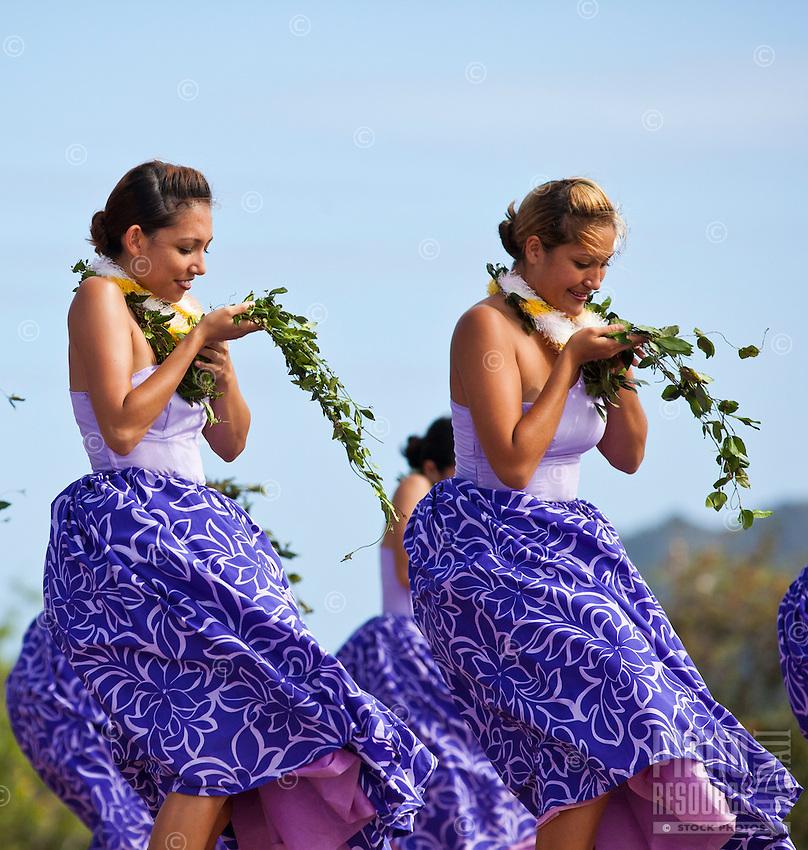 Hula at the 2011 Kauai Polynesian Festival