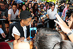 MIAMI, FL - MAY 16: Jaden Smith attend the AFTER EARTH Day at Miami Science Museum and Planetarium on May 16, 2013 in Miami, Florida. (Photo by Johnny Louis/jlnphotography.com)