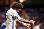 Real Madrid's Marcelo during Copa del Rey match between Real Madrid and Celta de Vigo at Santiago Bernabeu Stadium in Madrid, Spain. January 18, 2017. (ALTERPHOTOS/BorjaB.Hojas)