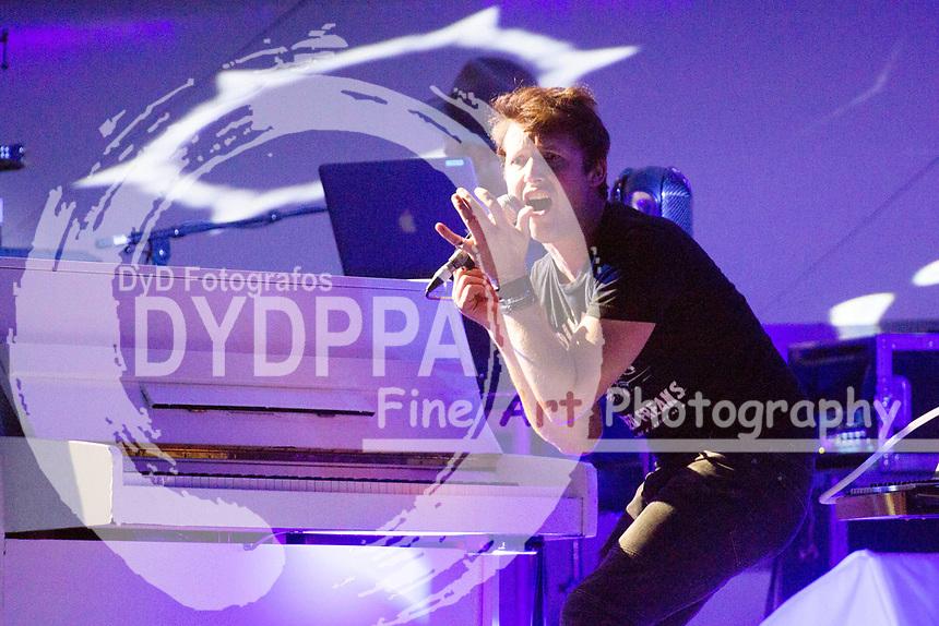 James Blunt live in der Barclaycard Arena. Hamburg, 17.10.2017