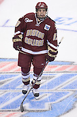 Pat Gannon - The Boston College Eagles defeated the University of North Dakota Fighting Sioux 6-5 on Thursday, April 6, 2006, in the 2006 Frozen Four afternoon Semi-Final at the Bradley Center in Milwaukee, Wisconsin.