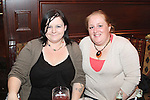 Karen Smith and Caroline Sweeney at the Quiz in Foleys in aid of The Cancer Society and Crumlins Children Hospital...Picture Jenny Matthews/Newsfile.ie