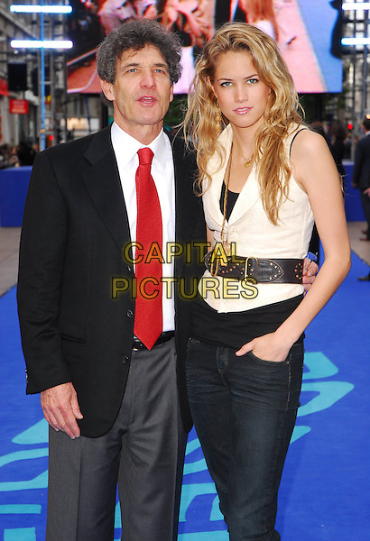 "CODY HORN & GUEST.At the UK Film Premiere of ""Poseidon"", .Empire Leicester Square, London, .May 28th 2006..half length.Ref: CAN.www.capitalpictures.com.sales@capitalpictures.com.©Can Nguyen/Capital Pictures"