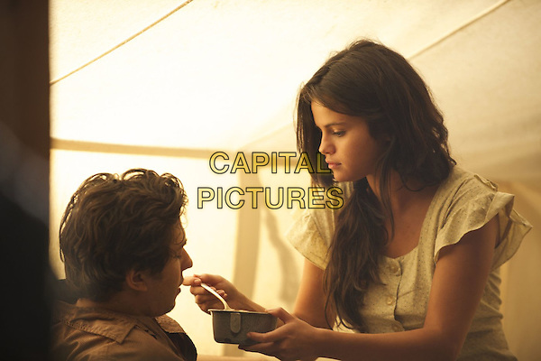 In Dubious Battle (2016) <br /> Selena Gomez, Nat Wolff<br /> *Filmstill - Editorial Use Only*<br /> CAP/FB<br /> Image supplied by Capital Pictures