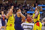 XXXVIII Lliga Nacional Catalana ACB 2017.<br /> FC Barcelona Lassa vs BC Morabanc Andorra: 89-70.<br /> David Walker, Edwin Jackson &amp; Andrew Albicy.