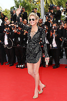 Sharon Stone attends ''The Search' 1ere - 67th Annual Cannes Film Festival - France