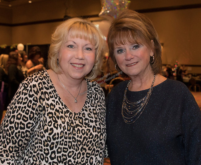Kathy Hill and Lindi Clark during the 10th Annual Power of the Purse held on Friday night, Nov. 17, 2017 in the Reno Ballroom in downtown Reno.