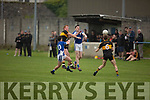 Action from Kerins O'Rahillys against Dr Crokes in the last round game of the Senior Club Championship in Strand Road on Saturday evening.