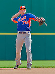 5 March 2015: New York Mets infielder Gavin Cecchini warms up prior to a Spring Training game against the Washington Nationals at Space Coast Stadium in Viera, Florida. The Mets fell to the Nationals after a late inning rally, dropping a 5-4 Grapefruit League game. Mandatory Credit: Ed Wolfstein Photo *** RAW (NEF) Image File Available ***