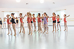 "Studio Rehearsal ""Rhythms of The Rain Forest"", the 2012 Annual Recital by the Cary Ballet Conservatory."