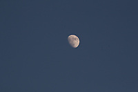 Calcio, Serie A: Juventus - Cagliari, Turin, Allianz Stadium, January 6, 2020.<br /> The moon during the Italian Serie A football match between Juventus and Cagliari at Torino's Allianz stadium, on January 6, 2020.<br /> UPDATE IMAGES PRESS/Isabella Bonotto