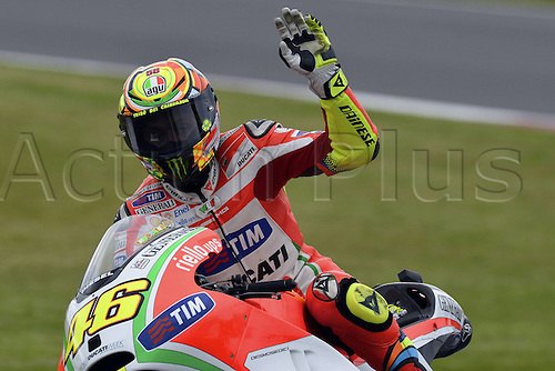 16.06.2012. Silverstone Circuit, England, UK.  MotoGP Qualification day.  Photo Valentino Rossi