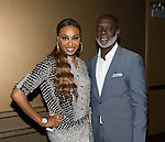 NEW ORLEANS, LA - JULY 4: Cynthia Bailey  and Peter Thomas attends the 2014 Essence Music Festival at the Ernest N. Morial Convention Center on July 4, 2014 in New Orleans, Louisiana. Photo Credit: Morris Melvin / Retna Ltd.
