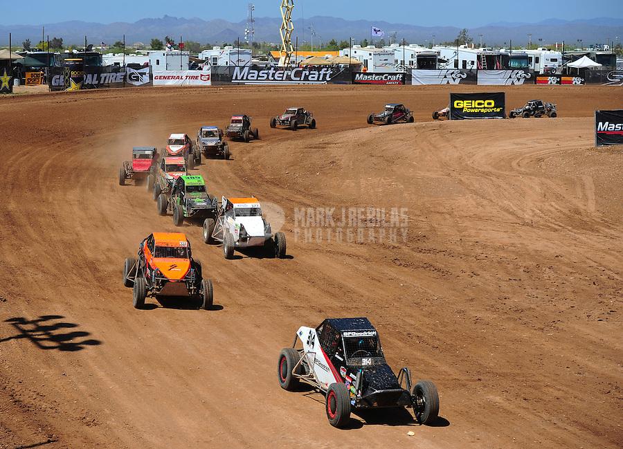 Apr 17, 2011; Surprise, AZ USA; LOORRS driver John Fitzgerald (314) during round 4 at Speedworld Off Road Park. Mandatory Credit: Mark J. Rebilas-