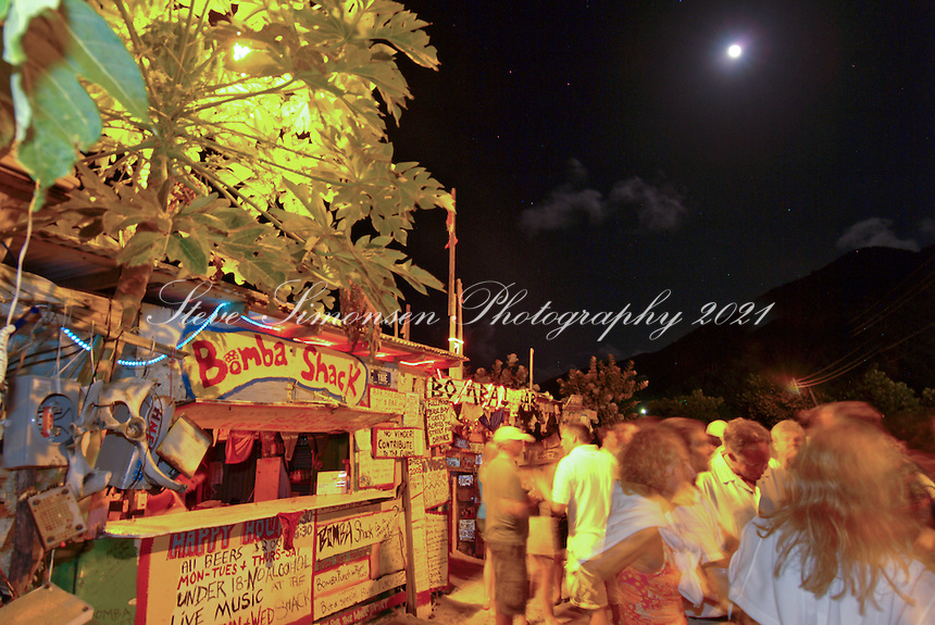 Full Moon Party<br /> Bomba Shack<br /> Apple Bay Tortola