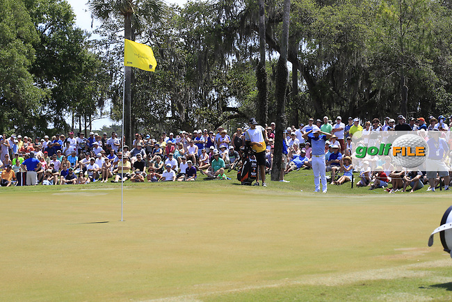 Rickie Fowler (USA) during round 2 of the Players, TPC Sawgrass, Championship Way, Ponte Vedra Beach, FL 32082, USA. 13/05/2016.<br /> Picture: Golffile | Fran Caffrey<br /> <br /> <br /> All photo usage must carry mandatory copyright credit (&copy; Golffile | Fran Caffrey)