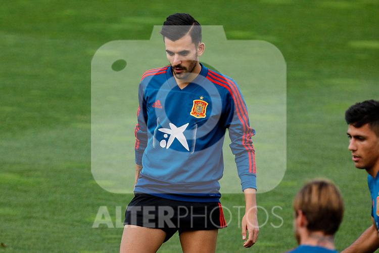 Dani Ceballos during the Trainee Session at Ciudad del Futbol in Las Rozas, Spain. September 02, 2019. (ALTERPHOTOS/A. Perez Meca)