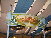 Beer Hall at Oktoberfest - Munich, Germany