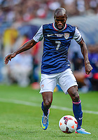 Chicago, IL - Sunday July 28, 2013: USMNT defender DaMarcus Beasley (7) during the CONCACAF Gold Cup Finals soccer match between the USMNT and Panama, at Soldier Field in Chicago, IL.