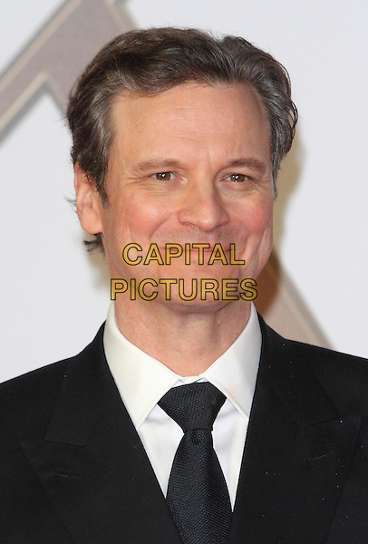 LONDON, ENGLAND - JANUARY 14: Colin Firth attends the World Premiere of 'Kingsman: The Secret Service' at the Odeon Leicester Square on January 14, 2015 in London, England<br /> CAP/ROS<br /> &copy;Steve Ross/Capital Pictures
