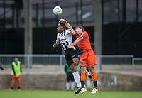 Adam El-Abd of Wycombe Wanderers during the Pre Season Friendly match between Maidenhead United and Wycombe Wanderers at York Road, Maidenhead, England on 28 July 2017. Photo by Andy Rowland.