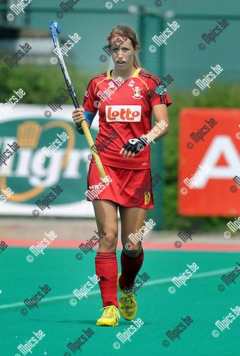 2013-07-14 / Hockey / seizoen 2013 / Dames Belgi&euml; / Barbara Nelen<br /><br />Foto: Mpics.be