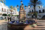 Plaza de Espana, Vejer de la Frontera, Cadiz Province, Spain