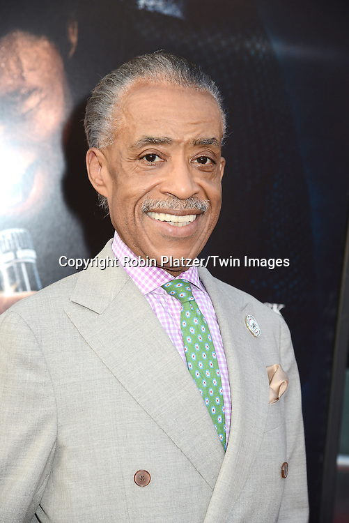 """Al Sharpton  attends the World Premiere of """"Get On Up"""" at the Apollo Theater in Harlem in New York Citiy on July 21, 2014."""