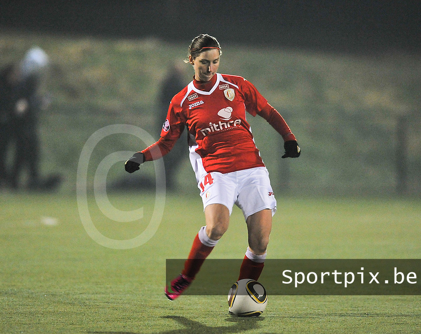 RSC Anderlecht - Standard Femina : Berit Stevens.foto DAVID CATRY / Vrouwenteam.be