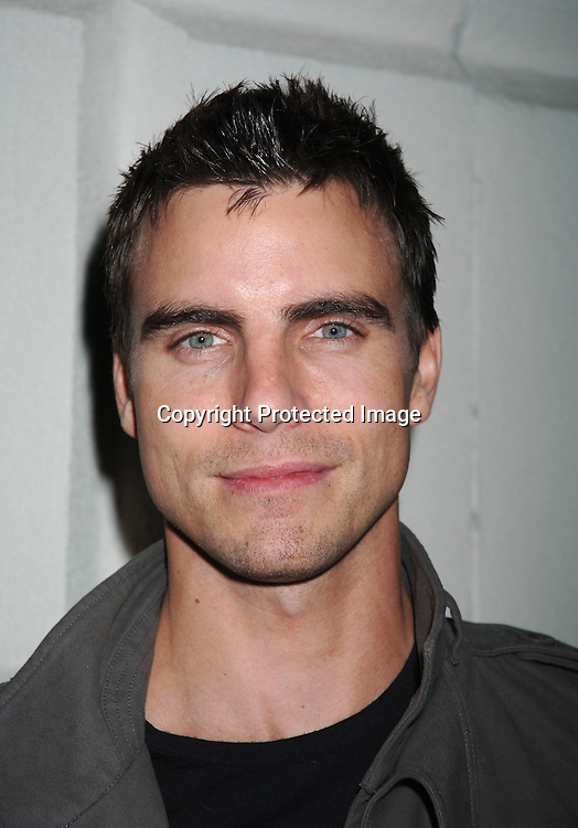 Colin Egglesfield ..at Marcia Tovsky's Pre Emmy Party on April 19, 2006..at Nikki Midtown...Robin Platzer, Twin Images