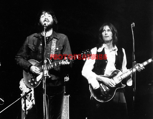 Delaney Bramlett 1969 with Eric Clapton at Royal albert Hall in London