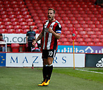 Billy Sharp of Sheffield Utd celebrates scoring the winning goal during the English Championship League match at Bramall Lane Stadium, Sheffield. Picture date: August 5th 2017. Pic credit should read: Simon Bellis/Sportimage