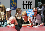 Helen Hirren fans attend the 'The Leisure Seeker'' premiere during the 2017 Toronto International Film Festival at Roy Thomson Hall on September 9, 2017 in Toronto, Canada.