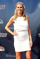 "14 February - Pasadena, California - Heidi Klum. NBC's ""America's Got Talent"" Season 11 Kickoff  held Pasadena Civic Auditorium. Photo Credit: Sammi/AdMedia"