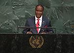 72 General Debate &ndash; 22 September <br /> <br /> Sierra Leone