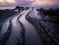 Mission Barrika area, Bay of Biscay, Basque country, Barrika coast