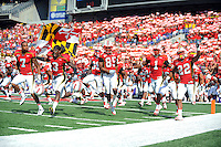 Maryland players gets ready to kick-off against Navy at the M&T Bank in Baltimore, MD on Monday, September 6, 2010. Alan P. Santos/DC Sports Box