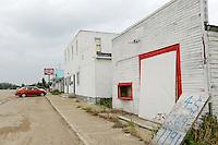 Ghost town Bankend, Saskatchewan, Canada