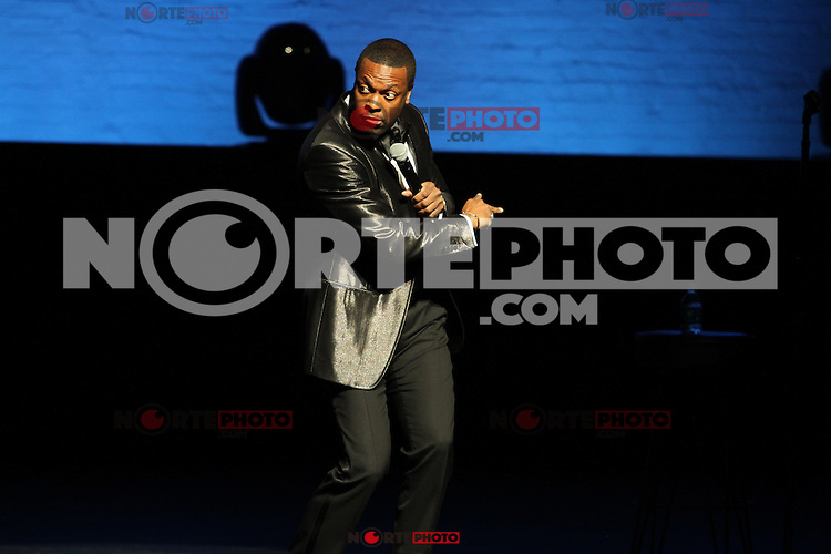 """NEW YORK, NY - DECEMBER 13....Chris Tucker performs on his """"Guess Who's Back Tour at the Apollo Theater December 13, 2012 in Harlem USA in New York City.RTNGoshorn/Mediapunchinc"""