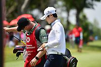 SINGAPORE - MARCH 03: Sung Hyun Park of South Korea exiting the 16th green during the final round of the HSBC Women's World Championship 2019 at Sentosa Golf Club - Tanjong Course, Singapore on March 03, 2019.<br /> .<br /> .<br /> .<br /> (Photo by: Naratip Golf Srisupab/SEALs Sports Images)<br /> .<br /> Any image use must include a mandatory credit line adjacent to the content which should read: Naratip Golf Srisupab/SEALs Sports Images
