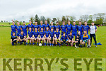 Ballymacelligott GAA team at the Junior Premier Club Football Championship 2017 Round 1 Ballymac v Fossa at Ballymacelligott GAA Ground on Sunday