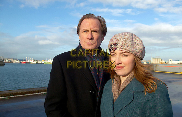 BILL NIGHY & KELLY MACDONALD.in The Girl In The Cafe.*Editorial Use Only*.www.capitalpictures.com.sales@capitalpictures.com.Supplied by Capital Pictures.