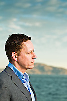Peter Thiel pictures: Executive portrait photography of Peter Thiel, former CEO of Paypal by San Francisco corporate photographer Eric Millette