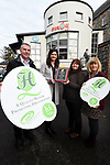 1-12-2017: Ailish O&rsquo;Neill, National Youth Health Programme Manager pictured presenting Rena Powell,  Health Promotion Officer with the Kerry Diocesian Youth Service with a Gold Standard Health Quality Mark (HQM) from the National Youth Council of Ireland (NYCI) in Killarney on Friday. Kerry Diocesian Youth Service (KDYS) was awarded HQM Mark in recognition of their work on health promotion for young people in the Kerry area, at a special event held in KDYS Youth Centre in Killarney on Friday December 1st. Also in photo are Tim O'Donoghue and <br /> Photo: Don MacMonagle<br /> &ldquo;This award is a testament to the hard work and dedication of all at KDYS. They are committed to the highest quality standards in health promotion and it is clear that ensuring a healthy and safe place for young people and staff is a key priority here.&rdquo; said Ailish O&rsquo;Neill, National Youth Health Programme Manager at the NYCI.<br /> &ldquo;Congratulations are in order to the staff and volunteers of the service, in particular Rena Powell, KDYS Health Promotion Officer, who guided the organisation through the process to ensure that their work is in line with national and international best practice in the area of Youth Health Promotion,&rdquo; continued Ms O&rsquo;Neill.<br /> <br /> The HQM is the recognised quality assurance mark for health promotion in youth work in Ireland. It is a health promotion initiative developed by the National Youth Health Programme to enhance best practice in youth organisations. The National Youth Health Programme is a partnership between NYCI, the Health Service Executive and the Department of Children and Youth Affairs. <br /> ENDS<br /> <br /> Contact: Daniel Meister, Communications Manager at NYCI: 087 781 4903, 01-478 4122 or communications@nyci.ie <br /> <br /> Notes to Editors:<br /> National Youth Council of Ireland<br /> The National Youth Council of Ireland is a membership-led umbrella organisation that represents and supports the interests of Irish voluntary youth organisations and uses its collective experience to act on issues t
