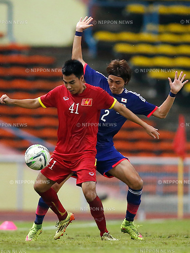 Ken Matsubara (JPN), MARCH 29, 2015 - Football / Soccer : AFC U-23 Championship 2016 Qualification Group I match between U-22 Japan 2-0 U-22 Vietnam at Shah Alam Stadium in Shah Alam, Malaysia. (Photo by Sho Tamura/AFLO SPORT)