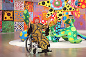 Yayoi Kusama attends preview for Yayoi Kusama: My Eternal Soul exhibition