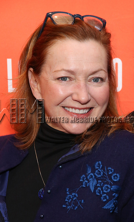 """Julie White attending the Broadway Opening Night Performance of  """"Lobby Hero"""" at The Hayes Theatre on March 26, 2018 in New York City."""