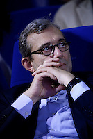 "Roma 9 Maggio 2016<br /> Il candidato a Sindaco di Roma Roberto Giachetti<br />  Cinema Atlantic. Iniziativa 'Per Roma"" organizzata da Cgil, Cisl e Uil.<br /> ROME, ITALY - May 09<br /> Initiative 'For Rome' organized by Trade Unions Cgil Cisl and Uil,<br /> on April 5, 2016 in Rome, Italy."